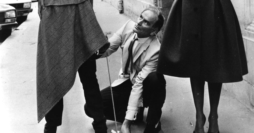 Pierre Cardin, Visionary Fashion Designer, Dies at 98 – The New York Times