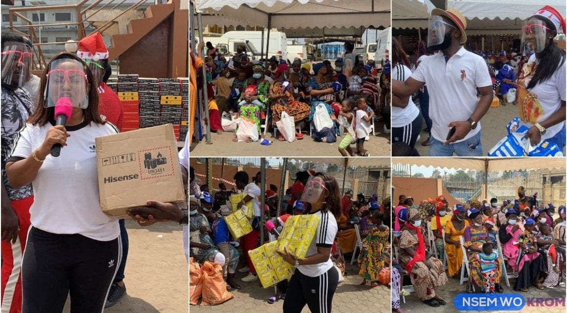 McBrown and Husby, Maxwell donates to Kayaye's in Accra as they Celebrate Christmas in Grand style — Nsɛm Wɔ Krom •Com