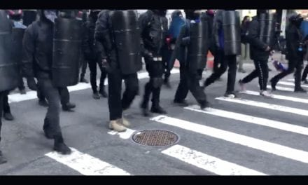 """[VIDEO] Antifa Takes Over Streets Of NYC """"Military Style,"""" Claims """"Ownership"""" of Public Areas – WayneDupree.com"""