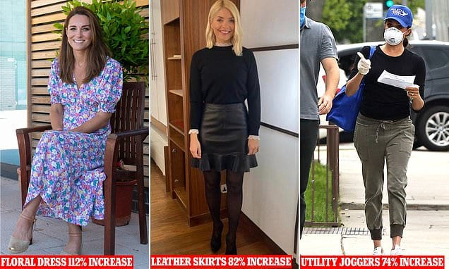 Kate Middleton is biggest fashion influencer of the year | Daily Mail Online