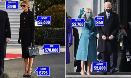 Melania Trump hands over First Lady fashion torch to Jill Biden   Daily Mail Online