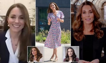 'Professional' Kate Middleton is adopting a smart business style in sharp blazers | Daily Mail Online