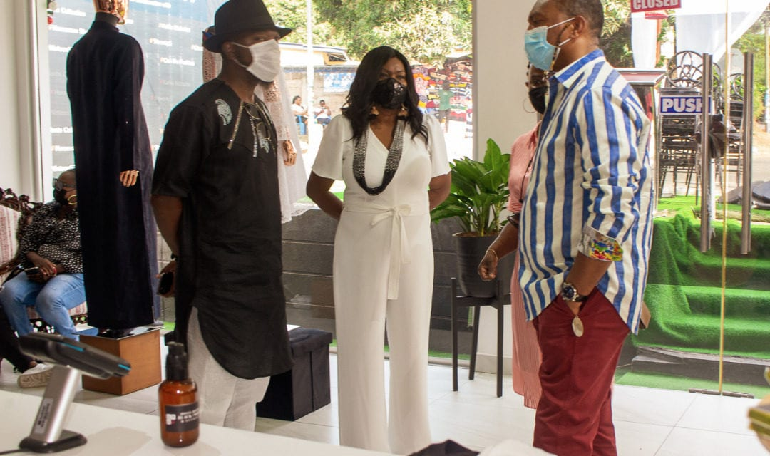 WATCH: Joyce Ababio Opens Black White And Accents Concept Store For Ghanaian Fashion Designers – Ameyaw Debrah