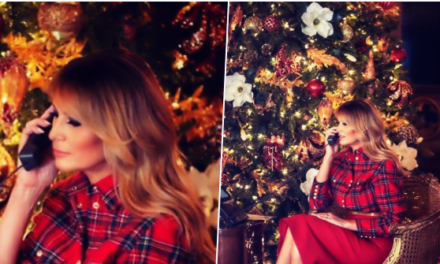 Fashion Notes: Melania Trump Brings Christmas Magic in Balmain Tartan