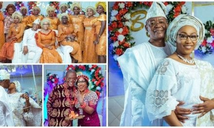 A Divorcee in Her Fifties and a Widower in His Sixties find love again, ties knot in grand style! See beautiful wedding photos – Madailygist