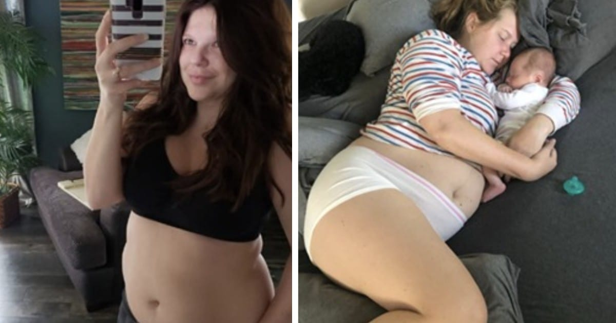 60 Celebrities postpartum who showed what they really looked like after giving birth