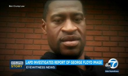 LAPD investigating report of Valentine-style photo of George Floyd circulated around department – ABC7 Los Angeles
