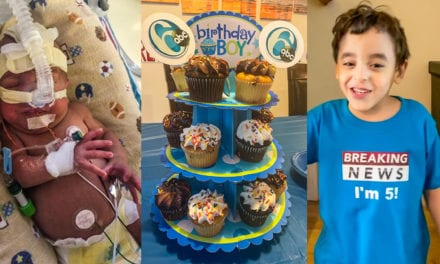 Premature NICU survivor celebrates 5th birthday 'Action News' style – 6abc Philadelphia