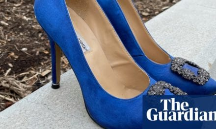 A Cinderella story: $2,125 Manolo Blahniks found in Canberra Vinnies for $35 | Fashion | The Guardian