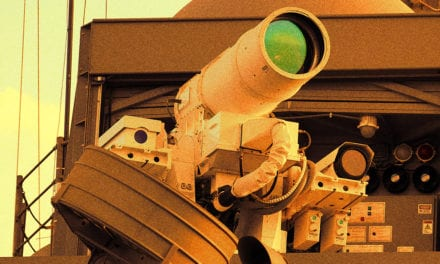 US Army Testing Machine Gun-Style Laser Weapon That Vaporizes Targets