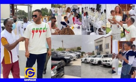 Kwadwo Safo Jnr celebrates 35th birthday in grand style – GhPage