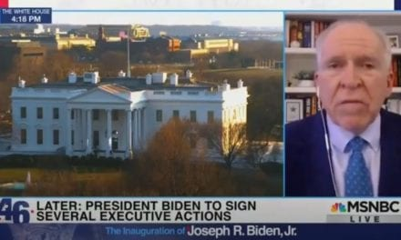"John Brennan Gives the Plan Away: Biden Officials Moving in ""Laser Light Fashion"" to Identify and ""Root Out"" Political Opposition from Population (VIDEO)"