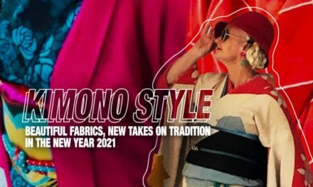 [Kimono Style] Beautiful Fabrics, New Takes on Tradition in the New Year 2021