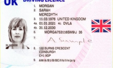 New-style driving licences and number plates mark one-year anniversary of Brexit as EU flag is removed