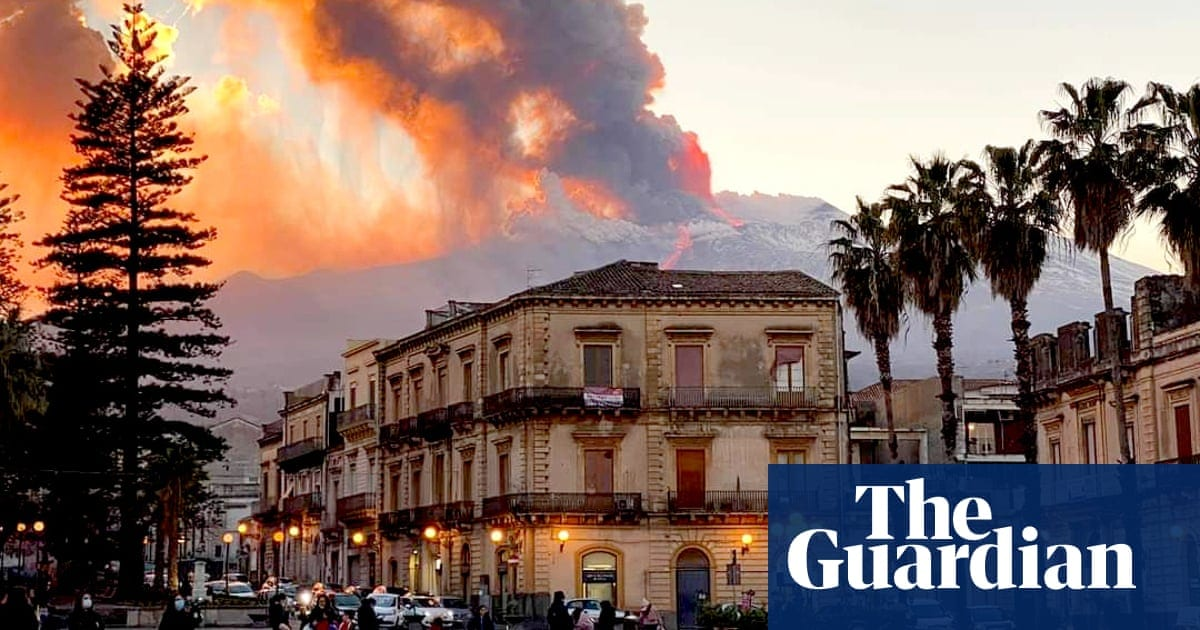 Mount Etna erupts in spectacular fashion – in pictures   World news   The Guardian