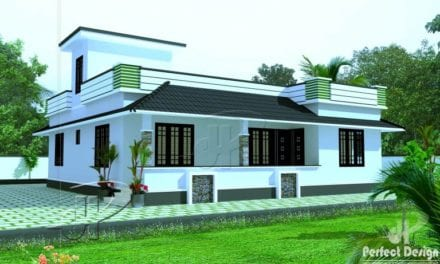 1180 Sq Ft 3BHK Traditional Mix Style Single Floor House and Free Plan – Home Pictures
