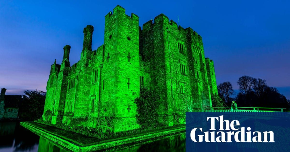 St Patrick's Day marked in green around the world – in pictures | Life and style | The Guardian