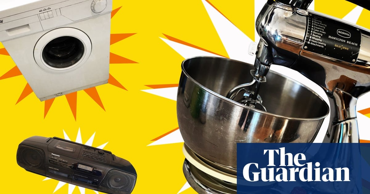 'I bought this mixer when I was pregnant. My son is now 35′: Guardian readers on the appliances that just won't quit | Life and style | The Guardian