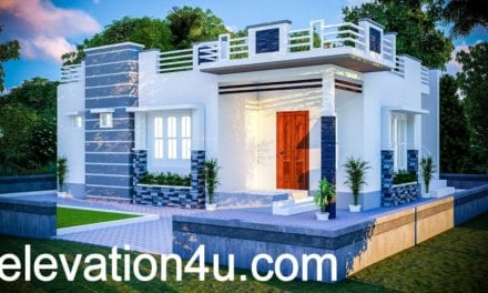 780 Sq Ft 2BHK Contemporary Style Single Floor House and Free Plan – Home Pictures