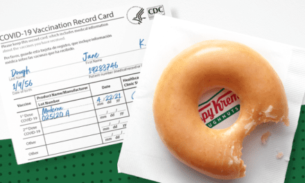 Krispy Kreme will you give you a free doughnut every day this year — if you've been vaccinated – CBS News