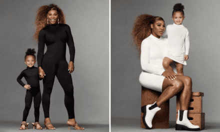 Serena Williams and Daughter, Olympia, Star in First Fashion Campaign  – BOTWC