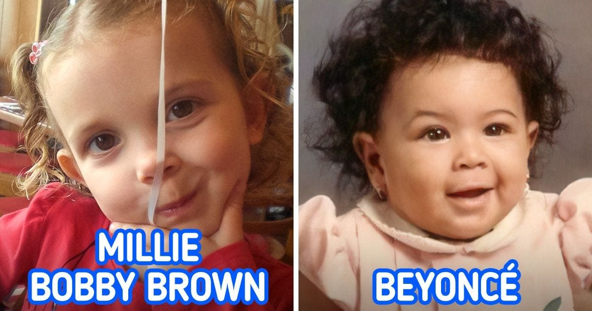 20+ Childhood Pics of Celebrities That Can Make All of Your Face Muscles Stretch Into a Smile