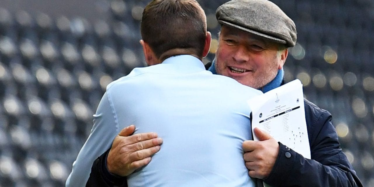Ally McCoist says Steven Gerrard should take Rangers into Champions League after restoring club's style and belief  | Football News | Sky Sports