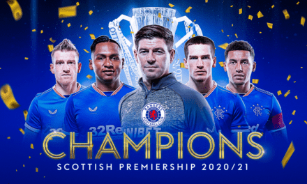 Rangers confirmed as Scottish Premiership champions after Celtic draw with Dundee United | Football News | Sky Sports