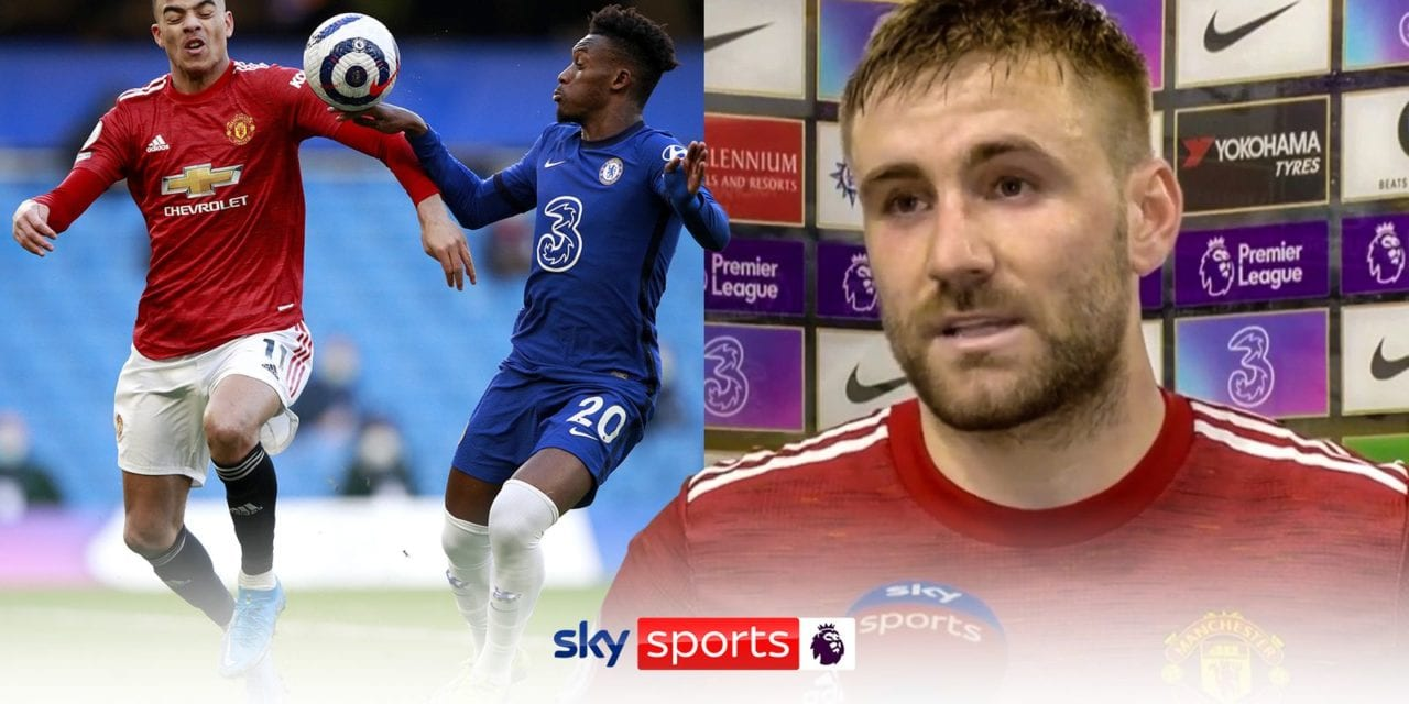 Luke Shaw misheard Stuart Attwell over penalty claim, Harry Maguire tells Manchester United officials | Football News | Sky Sports