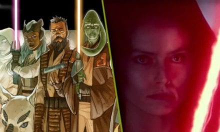 Star Wars Introduces Jedi With Dark Rey Style Hinged Lightsaber