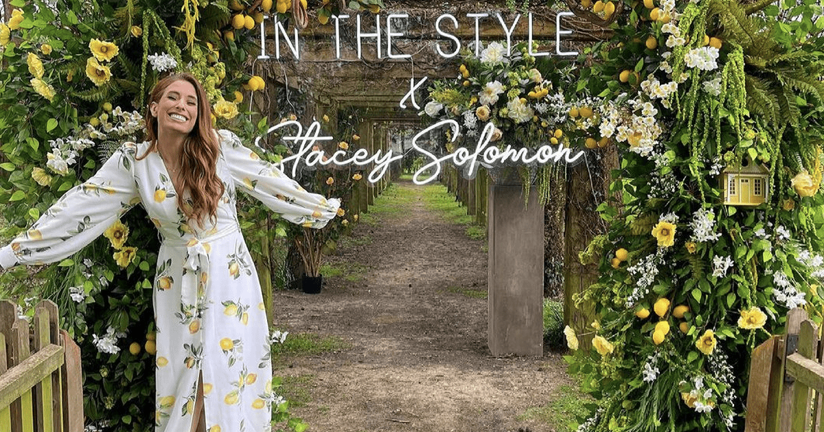 Stacey Solomon excitedly announces she's launching her own clothing line with In The Style – OK! Magazine