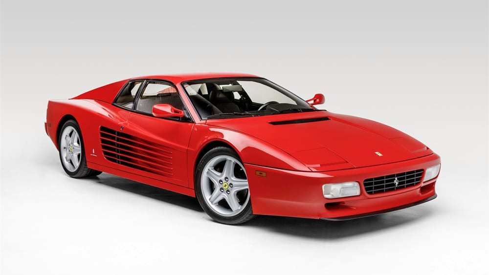 Car of the Week: Ferrari's 512 TR Is a Fashion Statement Back in Vogue – Robb Report