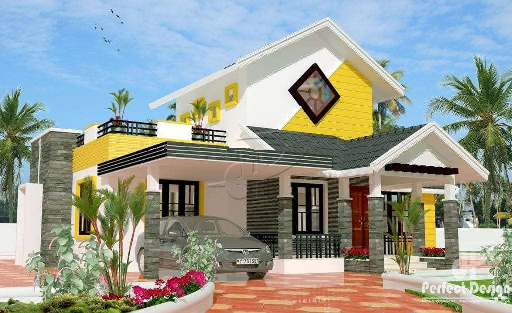 1225 Sq Ft 3BHK Traditional Style Single Floor House and Free Plan – Home Pictures