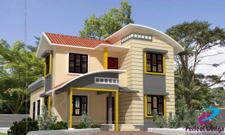 1550 Sq Ft 3BHK Contemporary Style Two-Storey House and Free Plan – Home Pictures