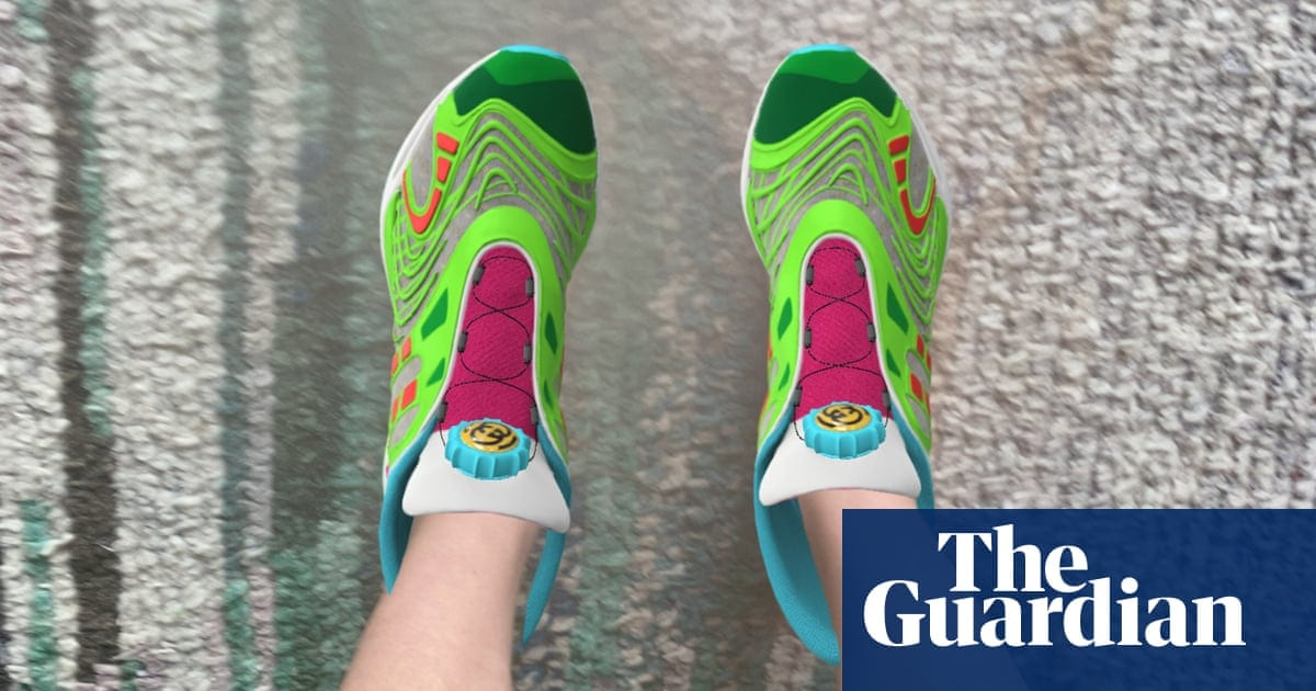 A virtual steal: the digital Gucci sneakers for sale at$17.99 | Fashion | The Guardian