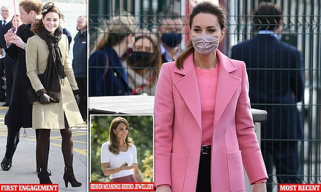 Kate Middleton was 'tentative' with fashion when she joined Royal Family, says author | Daily Mail Online