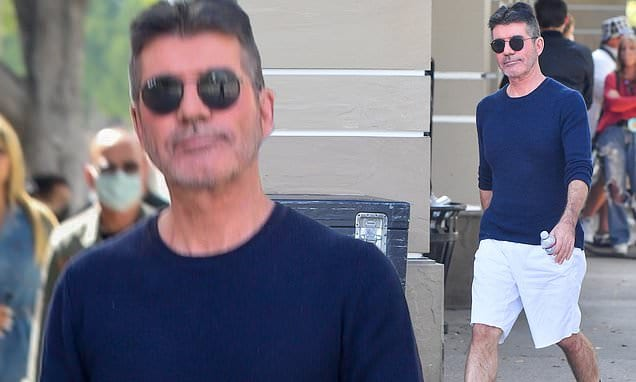 Simon Cowell, 61, combines comfort with style as he arrives at America's Got Talent filming in LA | Daily Mail Online