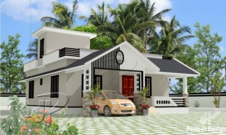 957 Sq Ft 2BHK Traditional Style Single-Storey House and Free Plan – Home Pictures