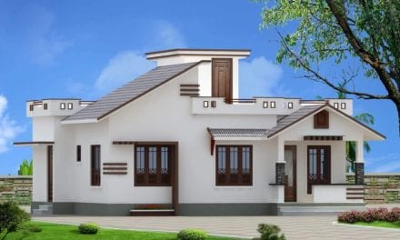 968 Sq Ft 2BHK Cotemporary Style Single Floor House and Free Plan – Home Pictures