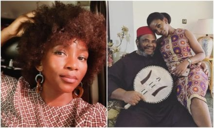 The man who showed the bull her horns from the start – Genevieve Nnaji celebrates Pete Edochie in style – Kemi Filani News