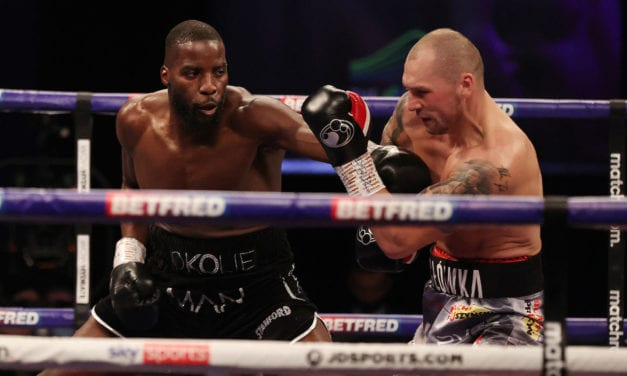 Lawrence Okolie seizes WBO cruiserweight title in devastating style – Boxing News