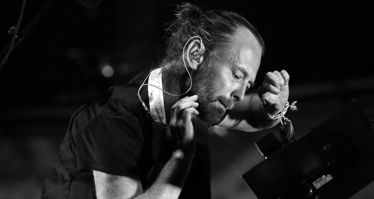 "Stream Thom Yorke ""Creep"" Solo Acoustic Remix for Fashion Show 