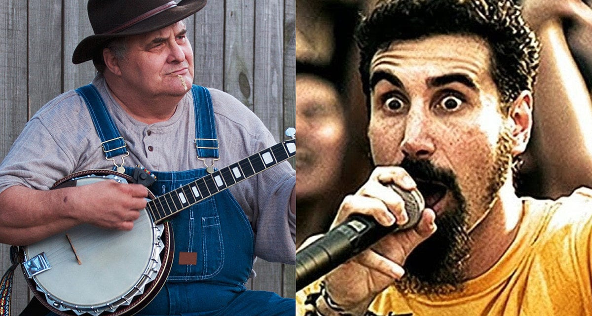 System of a Down's 'Chop Suey!' Covered Bluegrass Style Is a Hoot