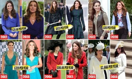 The Duchess of Cambridge is royally frugal when it comes to fashion | Daily Mail Online