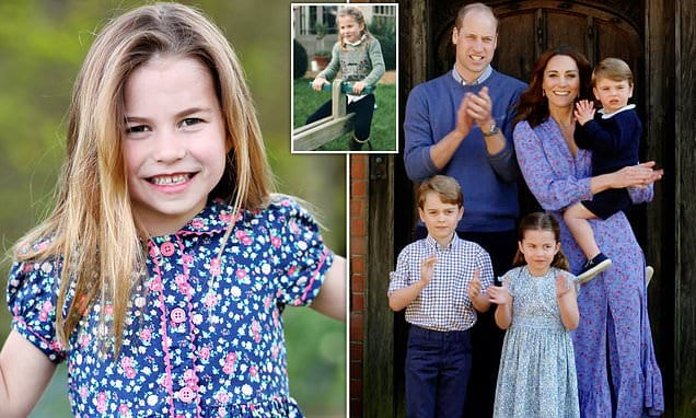 Princess Charlotte is destined to become a 'style icon' , says designer | Daily Mail Online