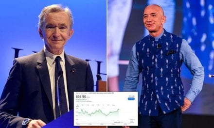 French fashion tycoon Bernard Arnault overtakes Jeff Bezos to become the world's richest man | Daily Mail Online