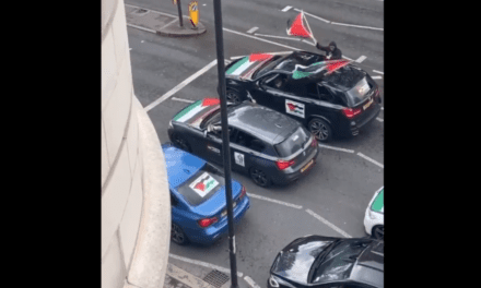 Passengers in car convoy filmed yelling: 'F*** the Jews, rape their daughters' | Jewish News