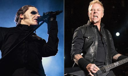 Listen to Ghost's 'Cirice' in the Style of Metallica