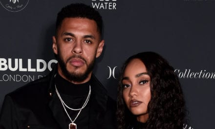 Leigh-Anne Pinnock Announces She's Expecting Her First Child With Fiancé Andre Gray!   Andre Gray, Expecting, Leigh-Anne Pinnock, Pregnant, Pregnant Celebrities   Just Jared Jr.