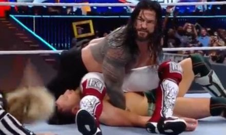 WWE's Roman Reigns Defeats Daniel Bryan and Edge in Brutal Fashion at WrestleMania